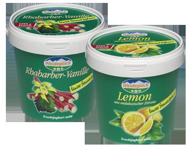 Joghurt Vanilla and Joghurt Lemon